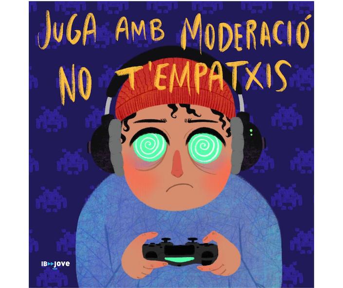 Campanya contra l'addicció als jocs en línia en menors d'edat