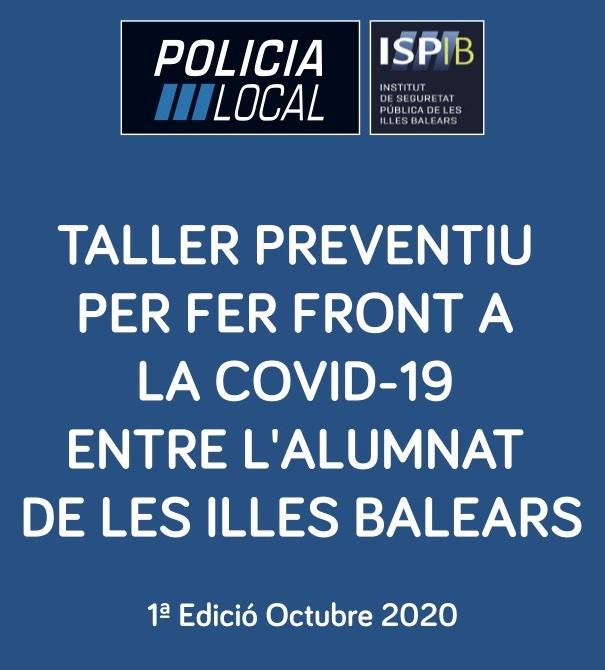 Taller preventiu per fer front a la COVID-19 entre l'alumnat de les Illes Balears